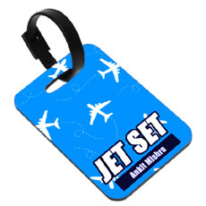 Jet Set Personalised Luggage Tag