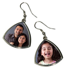 Personalised Photo Earrings