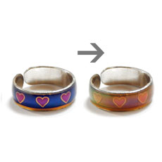 Magic Color Changing Love Band