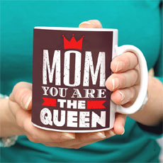 Mom The Queen Mug