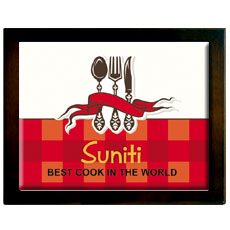 Best Cook Framed Memento