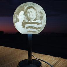 Chandrama Rotating Personalised Lamp