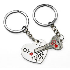Key To My Heart Keychain