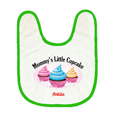 Mommys Cupcake Personalised Bib