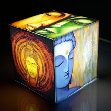 Buddha Mini Cube Lamp
