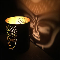 Buddha Tea Light Lamp