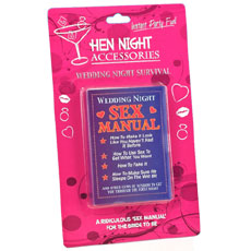 Wedding Night Sex Manual