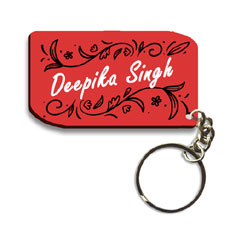 Personalised Name Keychain