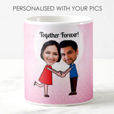 Love Couple Personalised Mug