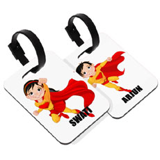 Super Kids School Bag Tag