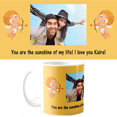 Cupid Photo Mug