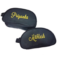 Personalised Travel Pouches Set