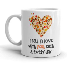 I Fall In Love Mug