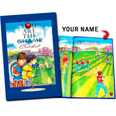 Personalised Book - Cricket