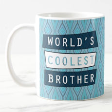 Worlds Coolest Brother Mug