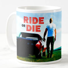 Ride Or Die Fast And Furious Art Mug