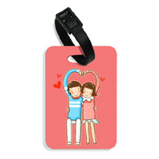 Couple In Love Bag Tag