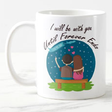 I Will Be With You Forever Mug