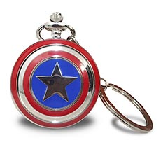 Captain America Retro Pocket Watch