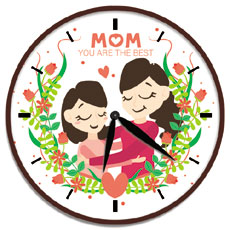 Mom You Are The Best Clock