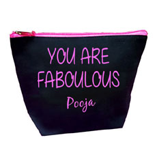 Fabulous Personalised Makeup Pouch