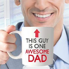 This Guy Is Awesome Dad Mug