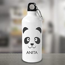 Cute Panda Personalised Bottle