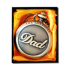 Greatest Dad Vintage Pocket Watch