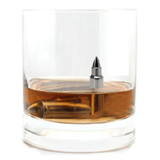Steel Bullet Chilling Ice Cubes Set Of Two