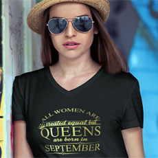 Queens Personalised Tshirt