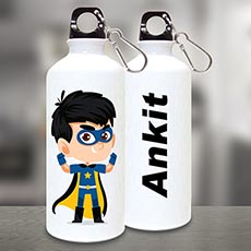 Superhero Personalised Sipper Bottle