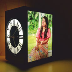 Harmony Lamp With Speaker Charger And Clock