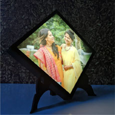 Kite Personalised Photo Frame And Lamp