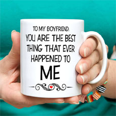 To My Boyfriend Mug