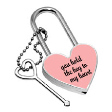 Key To My Heart Lock Set