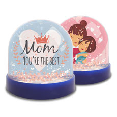 Best Mom Mini Snow Globe