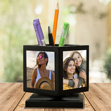Rotating Personalised Pen Stand