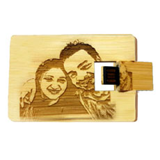 Wooden Personalised Pen Drive