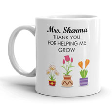 Teachers Thank You Personalised Mug