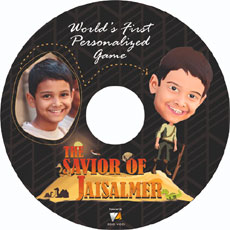 Personalized Video Game - Savior Of Jaisalmer