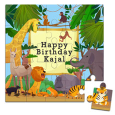 Kids Personalised Wooden Jigsaw Puzzle