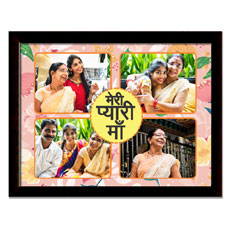 Meri Pyaari Maa Personalised Glass Frame