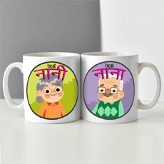 Nana Nani Mugs Set Of Two
