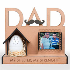 Dad My Strength Personalised Lamp