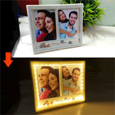 Love You LED Personalised Frame