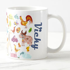 Zoo Mug With Name