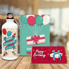 Kids Birthday Personalised Gift Set