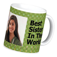 Best Sister Personalised Mug