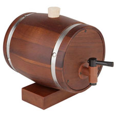 Teak Wood Decanter